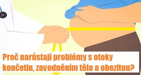 Jitka Bičíková: Proč narůstají problémy s otoky končetin, zavodněním těla a obezitou?