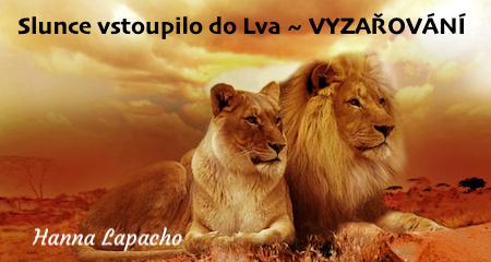 Hanna Lapacho: VYZAŘOVÁNÍ ~ slunce vstoupilo do Lva