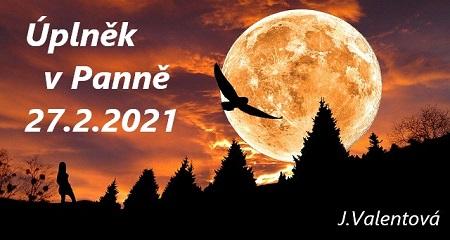 Jitka Valentová: Úplněk vPanně 27.2.2021
