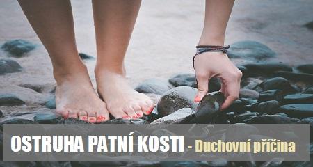 Jitka Bičíková: OSTRUHA PATNÍ KOSTI - Duchovní příčina