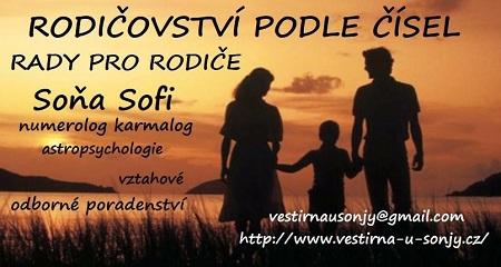 Soňa Sofi: Rodičovství podle čísel