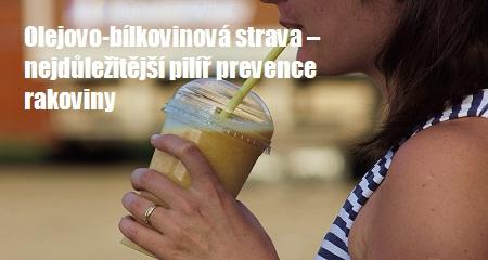 Mgr. Helena Cmurová: Olejovo-bílkovinová strava – nejdůležitější pilíř prevence rakoviny