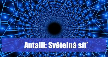 Antalii: Světelná síť