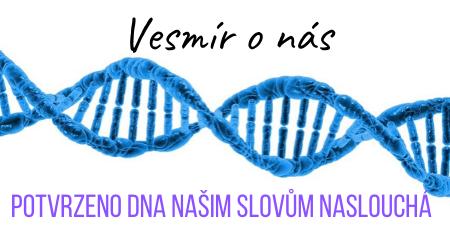 Vesmír o nás: Ruští vědci dokázali, že DNA lze přeprogramovat slovy a frekvencemi