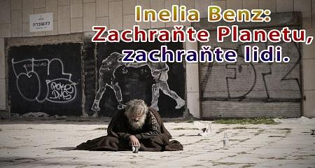 Inelia Benz: Zachraňte Planetu, zachraňte lidi.