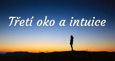 Třetí oko a intuice