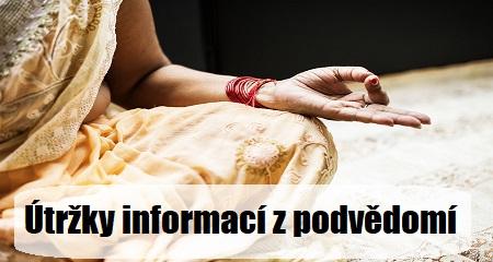 Jitka Bartošová: Útržky informací z podvědomí