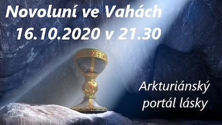 Jitka Valentová: Novoluní ve Vahách 16.10.2020 v21.30 a Arkturiánská mise lásky