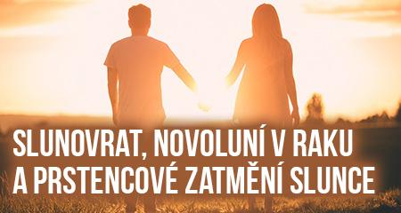 Jitka Valentová: Slunovrat 20.6.2020, Novoluní vRaku 21.6.2020 a prstencové zatmění Slunce + plejádský portál lásky a sirianský portál informací