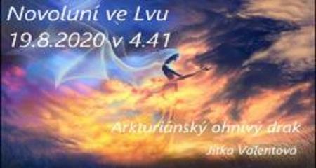 Jitka Valentová: Novoluní ve Lvu 19.8.2020