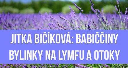 Jitka Bičíková: BABIČČINY BYLINKY na lymfu a otoky