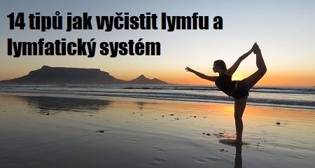 Jitka Bičíková: 14 tipů jak vyčistit lymfu a lymfatický systém