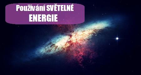 Pleja Světlo Krystal: Používání SVĚTELNÉ ENERGIE