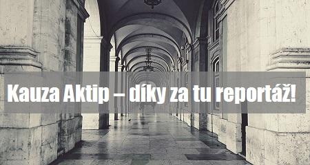 Veronika Navrátilová: Kauza Aktip – díky za tu reportáž!