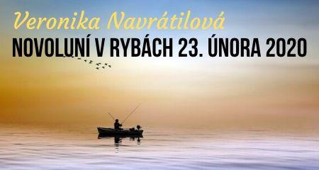 Veronika Navrátilová: Novoluní v Rybách 23. února 2020
