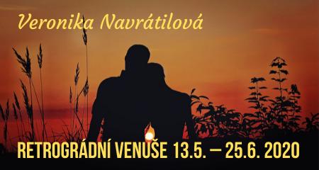 Veronika Navrátilová: Retrográdní Venuše 13.5. – 25.6. 2020