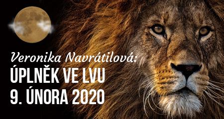 Veronika Navrátilová: Úplněk ve Lvu 9. února 2020